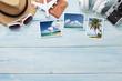 Leinwandbild Motiv Travel vacation background concept