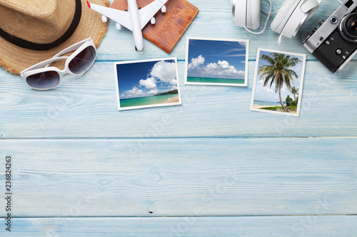 Fotografie, Tablou Travel vacation background concept