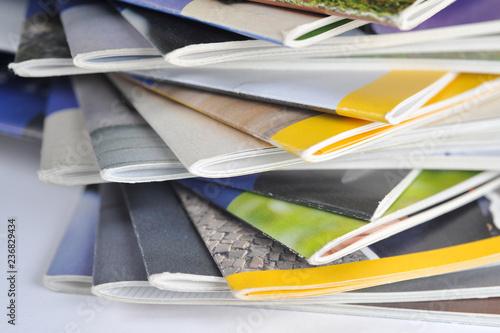 Magazine, Journale, Information, Zeitschriften, Kommunikation, Redaktion, Journa Fototapeta