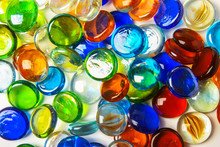 Multicolored Glass Stones