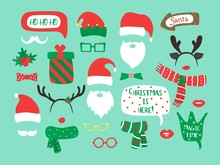 Christmas And New Year Vector ...
