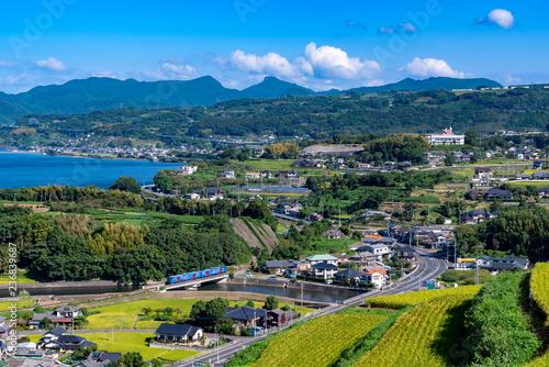 Obraz [長崎県]東彼杵の風景 - fototapety do salonu