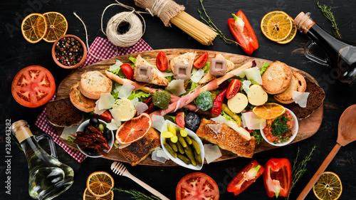 Fotografia A set of food