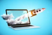 Online Start Up Concept