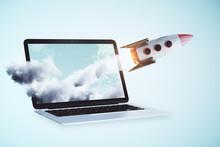 Online Startup Concept