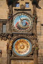 Close-up Of Astronomical Clock...