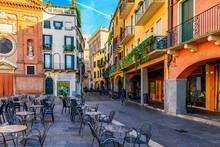 Piazza Dei Signori In Padua (Padova), Veneto, Italy