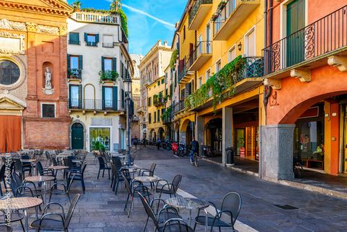 Piazza dei Signori w Padwie (Padwa), Wenecja Euganejska, Włochy