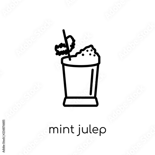 Valokuva  Mint Julep icon from Drinks collection.