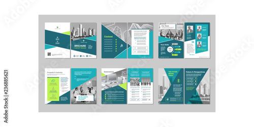 Brochure creative design Fototapet