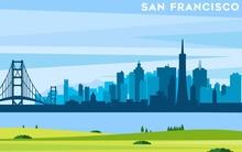 San Francisco Modern City Landscape Skyline