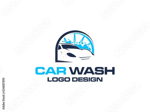 Car Wash Logo Vector Inspiration Buy This Stock Vector And