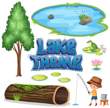 Set Of Lake Theme