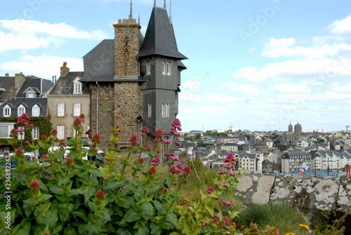 Plakat Miasto Granville, departament Manche, Francja