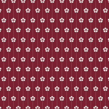 Seamless Japanese Pattern With...