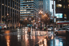 Reflective Wet Streets
