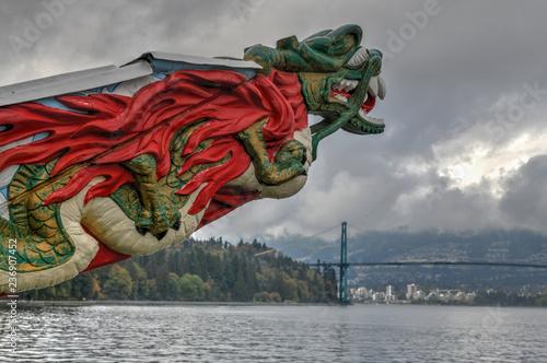 Photo SS Empress of Japan Figurehead - Vancouver, Canada