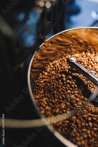 Poster Koffiebonen 焙煎