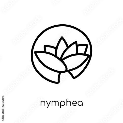 Obraz na plátně Nymphea icon