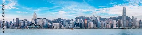 Fototapeta Hong Kong City Skyline and Architectural Landscape.. obraz na płótnie