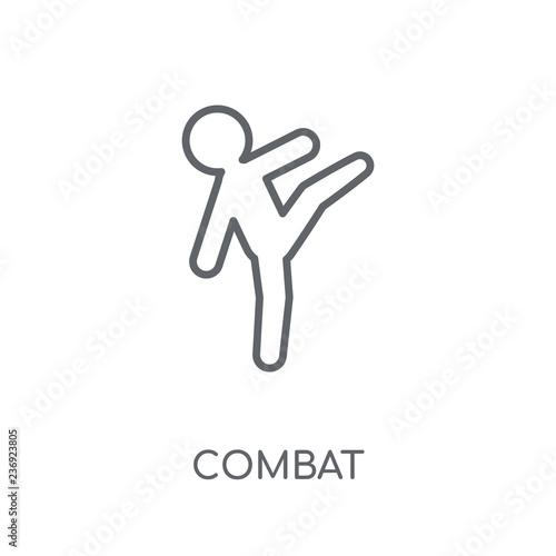 Fotografía  combat linear icon