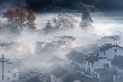 shicheng village in late autumn