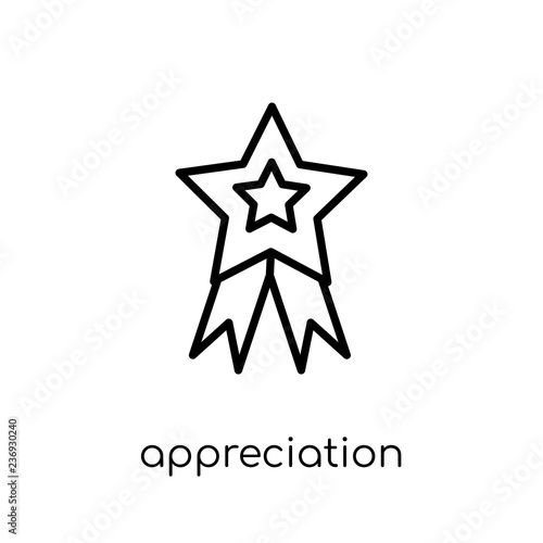 Fotografia  Appreciation icon from collection.