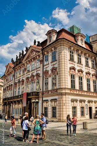 Spoed Foto op Canvas Centraal Europa Prag, Palais Goltz-Kinsky