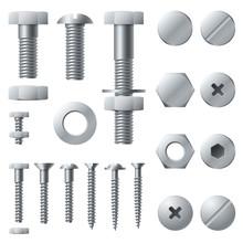 Metal Screws. Bolt Screw Nut R...
