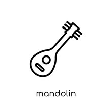 Mandolin Icon From Music Colle...