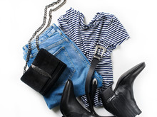 Set Of Women's Outfit  - Jeans...