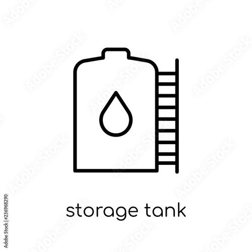 storage Tank icon from Industry collection. Tapéta, Fotótapéta