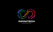 Infinity Logo - Colorful Infin...