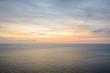 beautiful sunrise under water of sea at phuket, Thailand