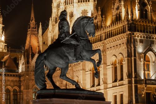 Fotografie, Obraz  Die Statue von Franz II
