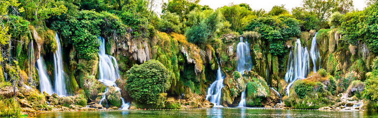 Fototapeta Do kuchni Kravica waterfalls on the Trebizat River in Bosnia and Herzegovina