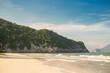 Mountain and beach landscape Prachuap Khiri Khan Province of Thailand