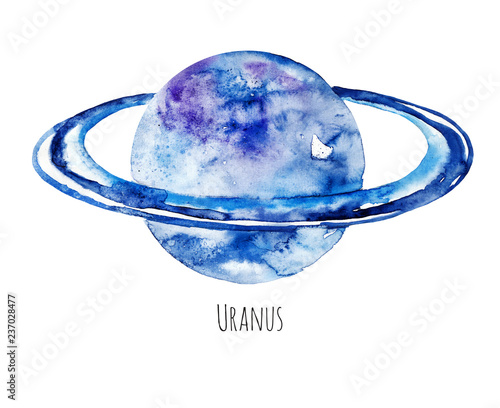 Photo  Planet Uranus