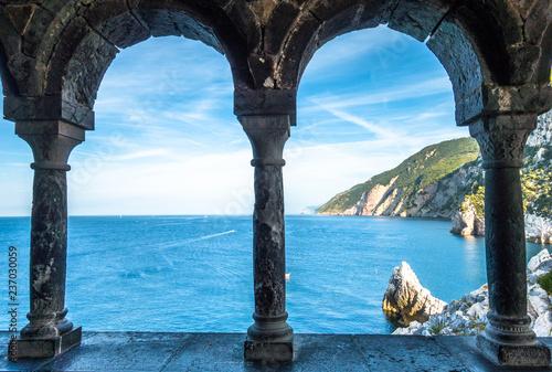 In de dag Liguria portovenere - italy