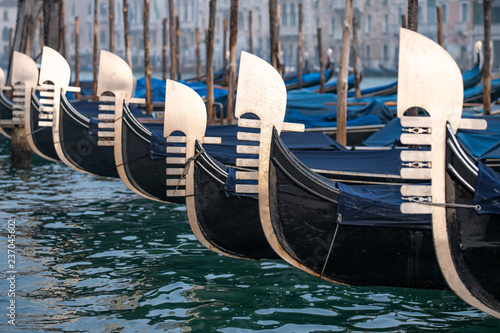 In de dag Centraal Europa Gondeln in Venedig