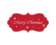 Christmas Label. Perfect for labels, invitations or announcements.
