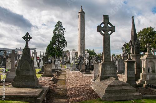 Vászonkép The Glasnevin cemetery