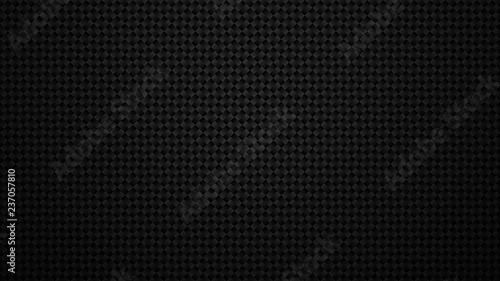 Fototapeten Künstlich Abstract pattern Geometric grid background Modern dark texture Carbon fiber texture