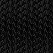 Asian Background Wave Seamless Pattern