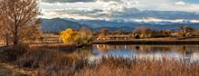 Stearns Lake Mountain Reflections