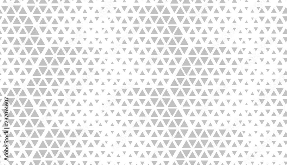 Fototapeta Abstract geometric pattern. Seamless vector background. White and grey halftone. Graphic modern pattern. Simple lattice graphic design.