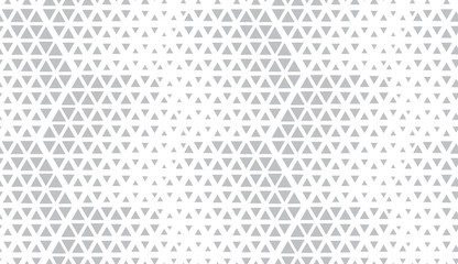 Abstract geometric pattern. Seamless vector background. White and grey halfto...