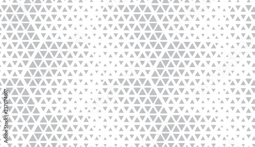 Fototapeta Abstract geometric pattern. Seamless vector background. White and grey halftone. Graphic modern pattern. Simple lattice graphic design. obraz