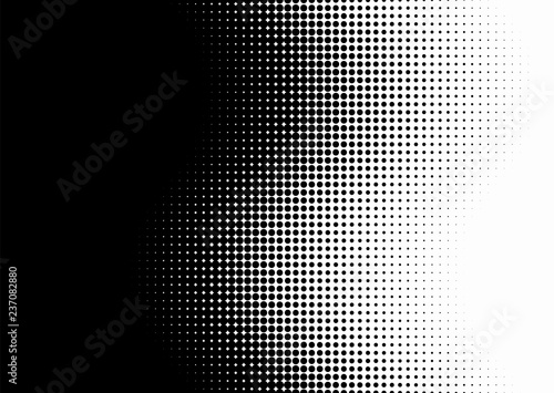 Fotografija  Screentone Graphics_Halftone Gradation_Black Dots