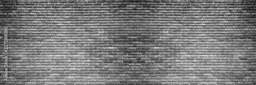 Foto op Plexiglas brick wall, wide panorama of masonry